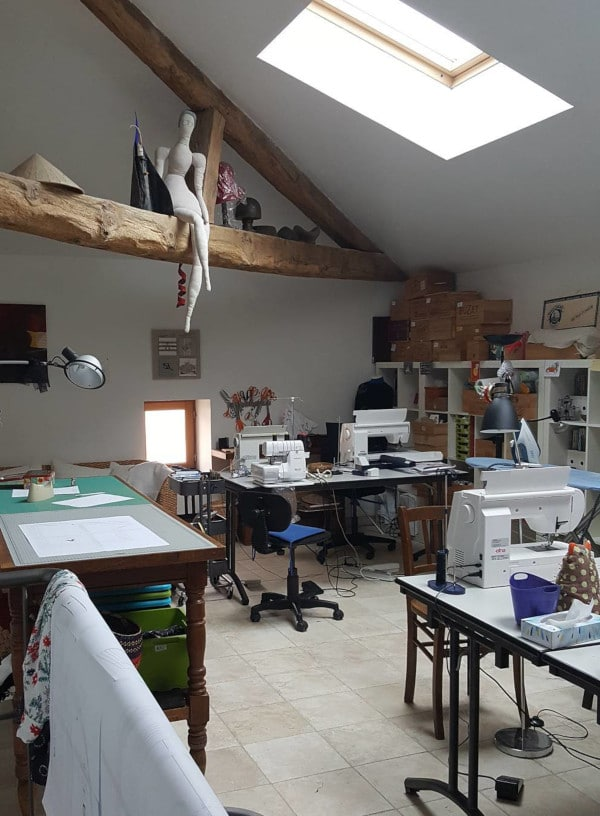 L'atelier couture de Michèle Thénot