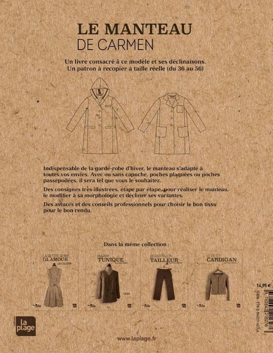 Livre couture - Le manteau de Carmen