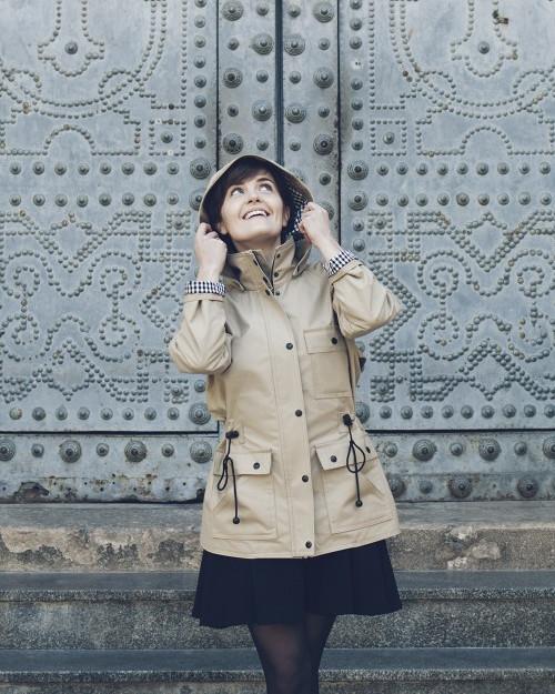 Patron veste à capuche Serra - Pauline Alice Patterns