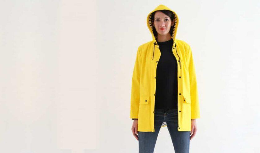 Les patrons de veste de pluie ou ciré femme - Louise Magazine