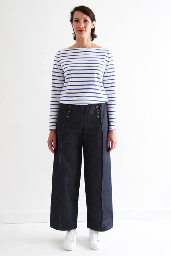 Patron pantalon Armor et marinière Milor - I am Patterns, collection I am a sailor