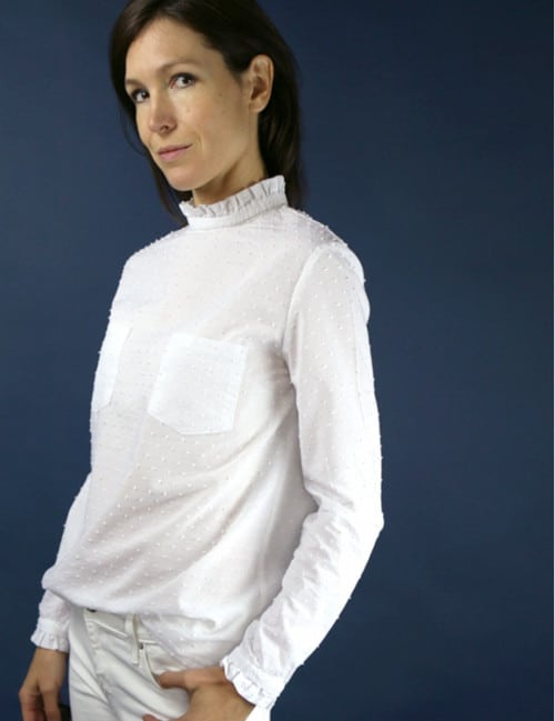 Patron blouse col victorien - Passion d'Atelier Scämmit