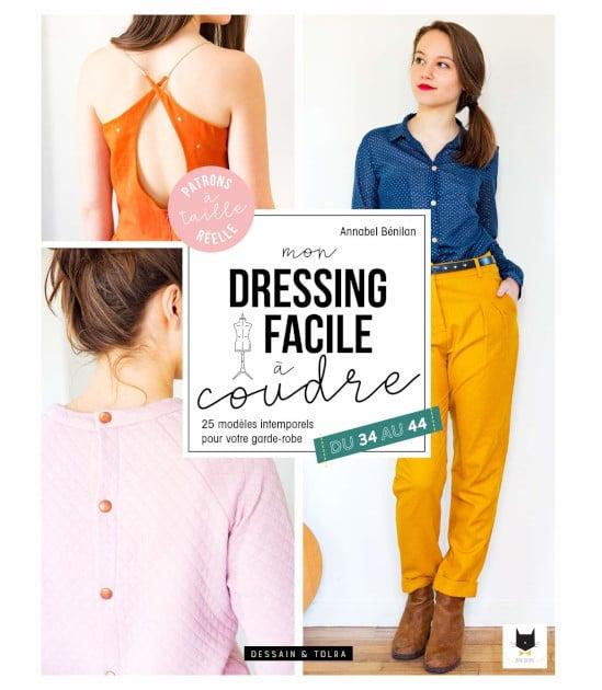 Livre mon dressing facile à coudre - Annabel Benilan