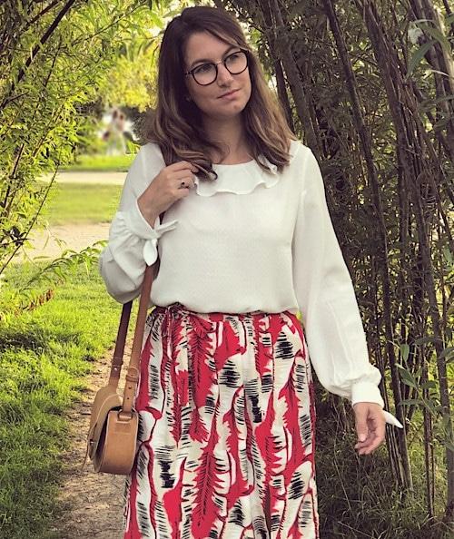 Patron blouse Belle Lurette - Lousiette en goguette
