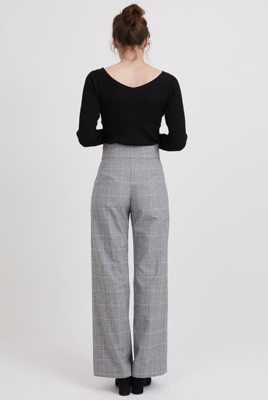 Patron pantalon large Paloma - Coralie Bijasson