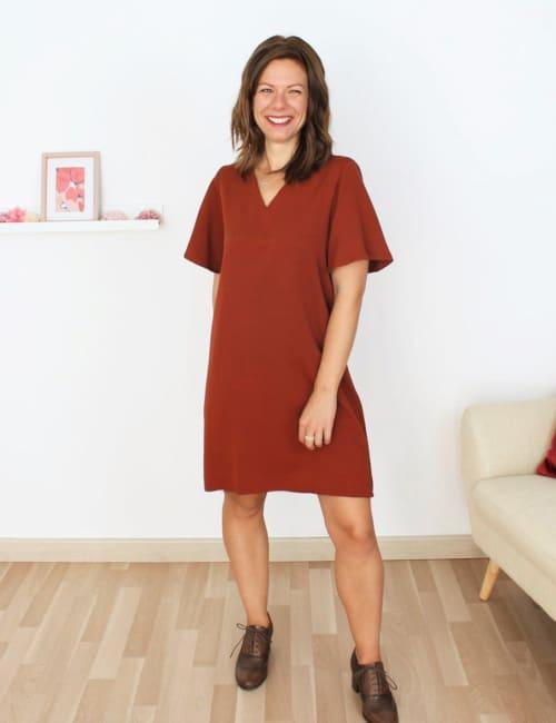 Patron robe Graziella de Mouna Sew