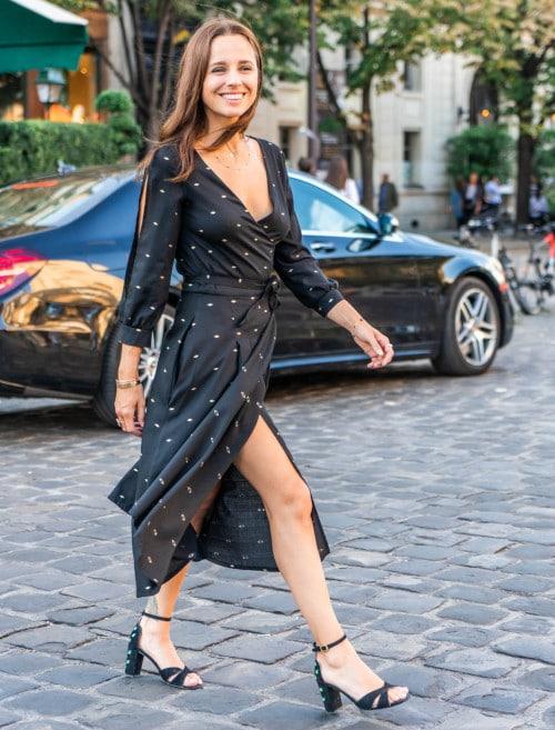 Patron robe portefeuille Tamara - Maison Fauve