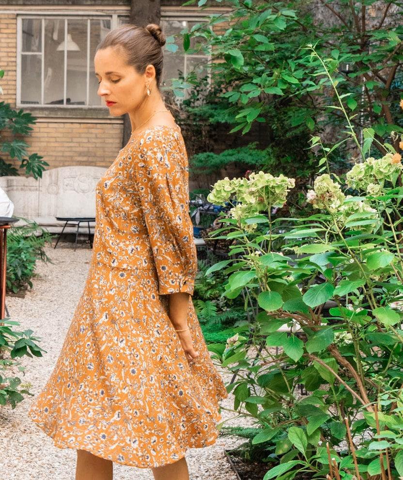 Patron robe ou blouse Nikki de Maison Fauve