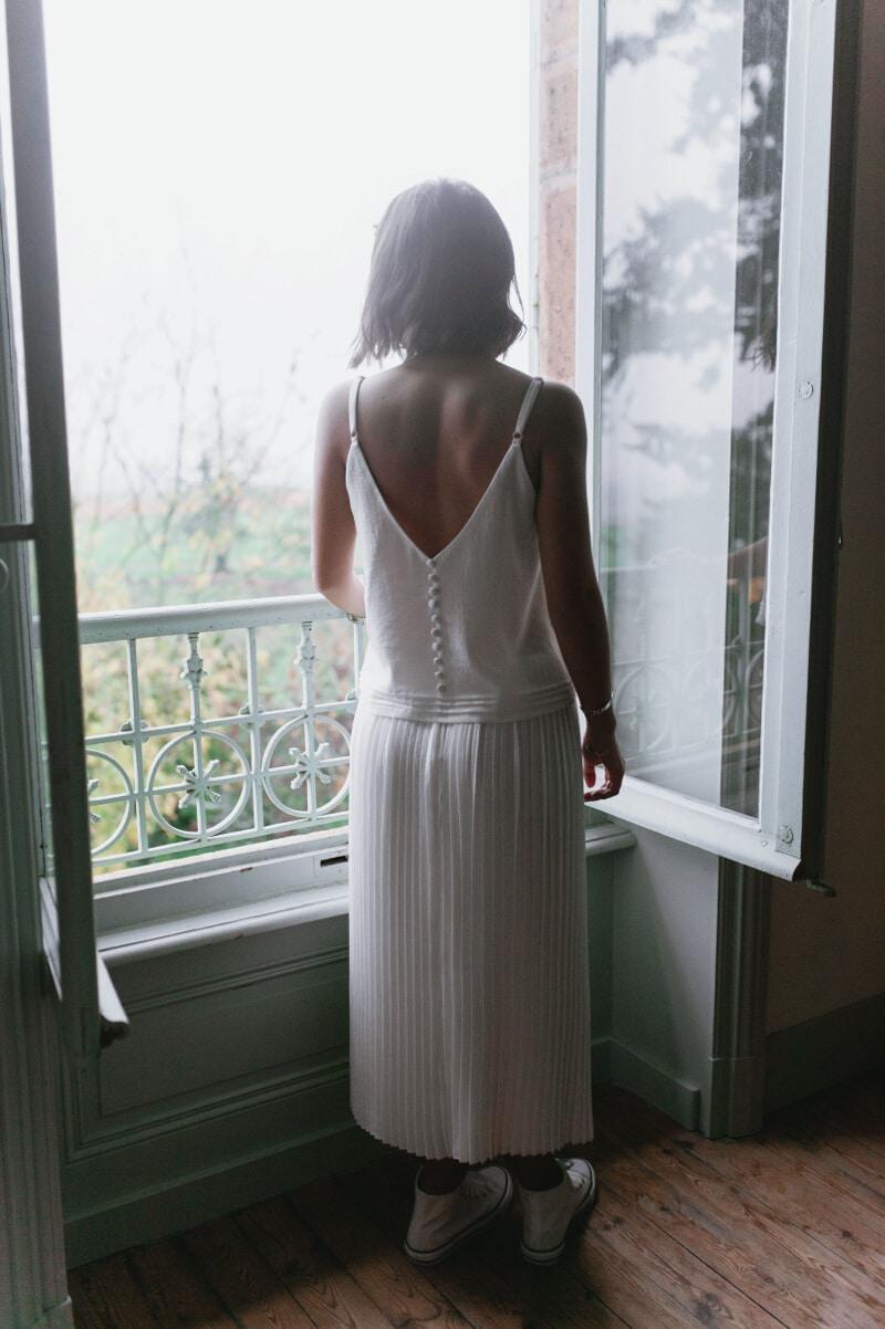 Idée tenue de fêtes : jupe plissée - Ivanne Soufflet