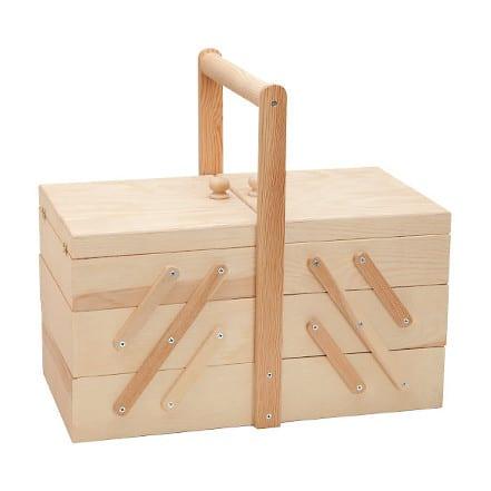 Boîte à couture en bois - Butinette