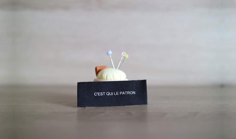Jolies étiquettes pour personnaliser ses créations couture