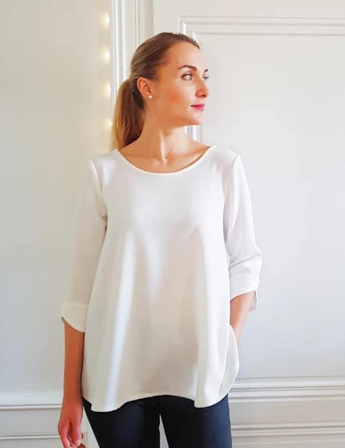 Kit couture blouse Poppy crème