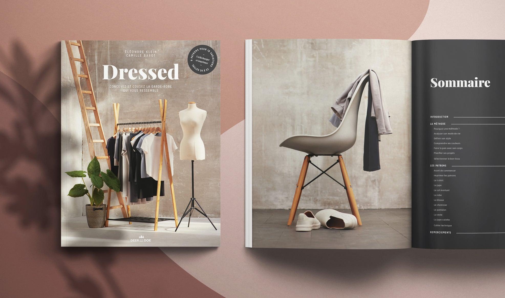 Livre Dressed de Deer & Doe - revue de Louise Magazine