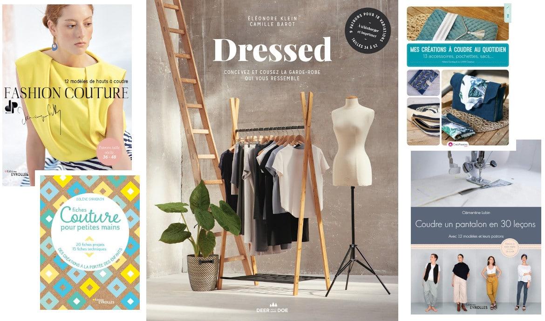 Livres coutures sortis en novembre 2019 - Louise Magazine