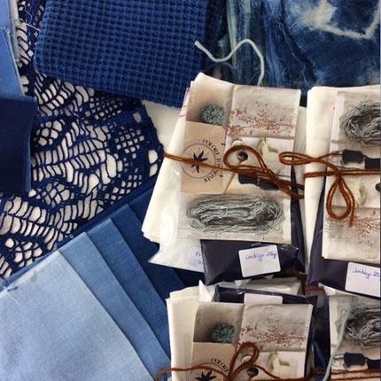 Teinture naturelle indigo - Colore ton monde
