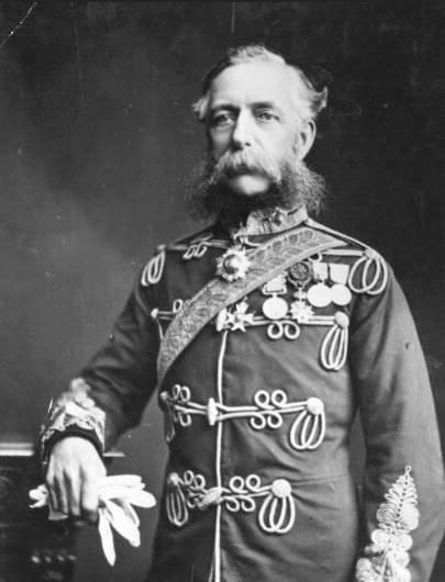 Lors James Thomas Brudenell, comte de Cardigan