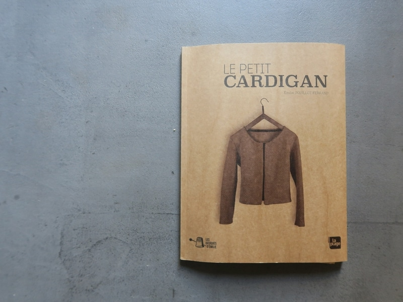 Livre Le Petit Cardigan - Emilie Pouillot Ferrand