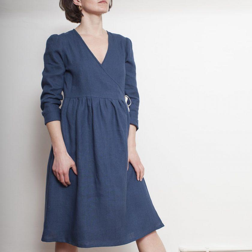Patron gratuit de robe cache-cœur - Fabrics Store