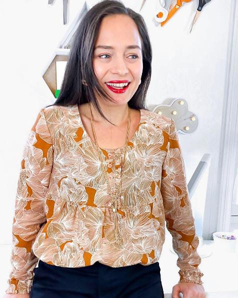 Patron blouse Alix Urban Fairy