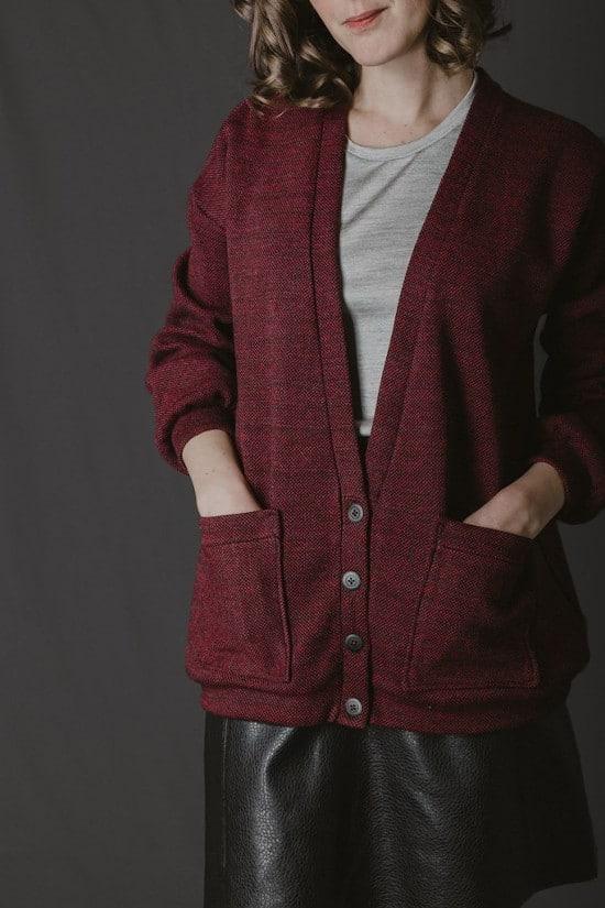 Patron cardigan Jamie version longue - Ready to sew