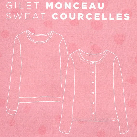 Patron gilet Monceau - Cozy Little World
