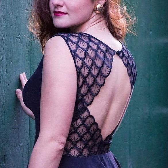 Robe à partie des patrons Atelier Charlotte Auzou - @sewingmarine