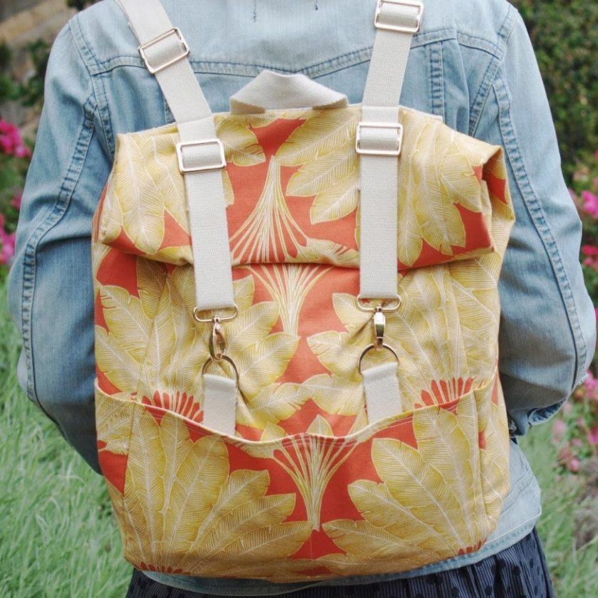 Tuto sac à dos toucan - Les fusettes | LOUISE Magazine