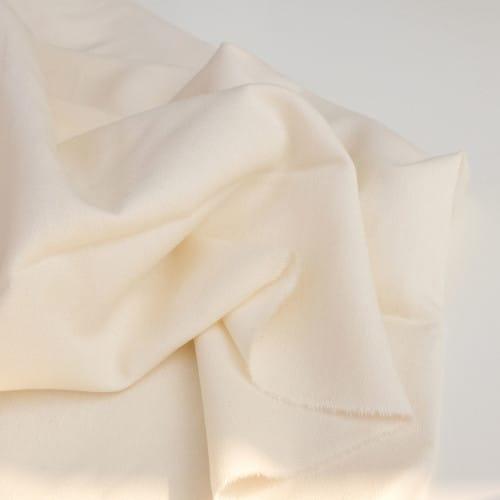 Crêpe de coton biologique naturel / écru - Fil Etik