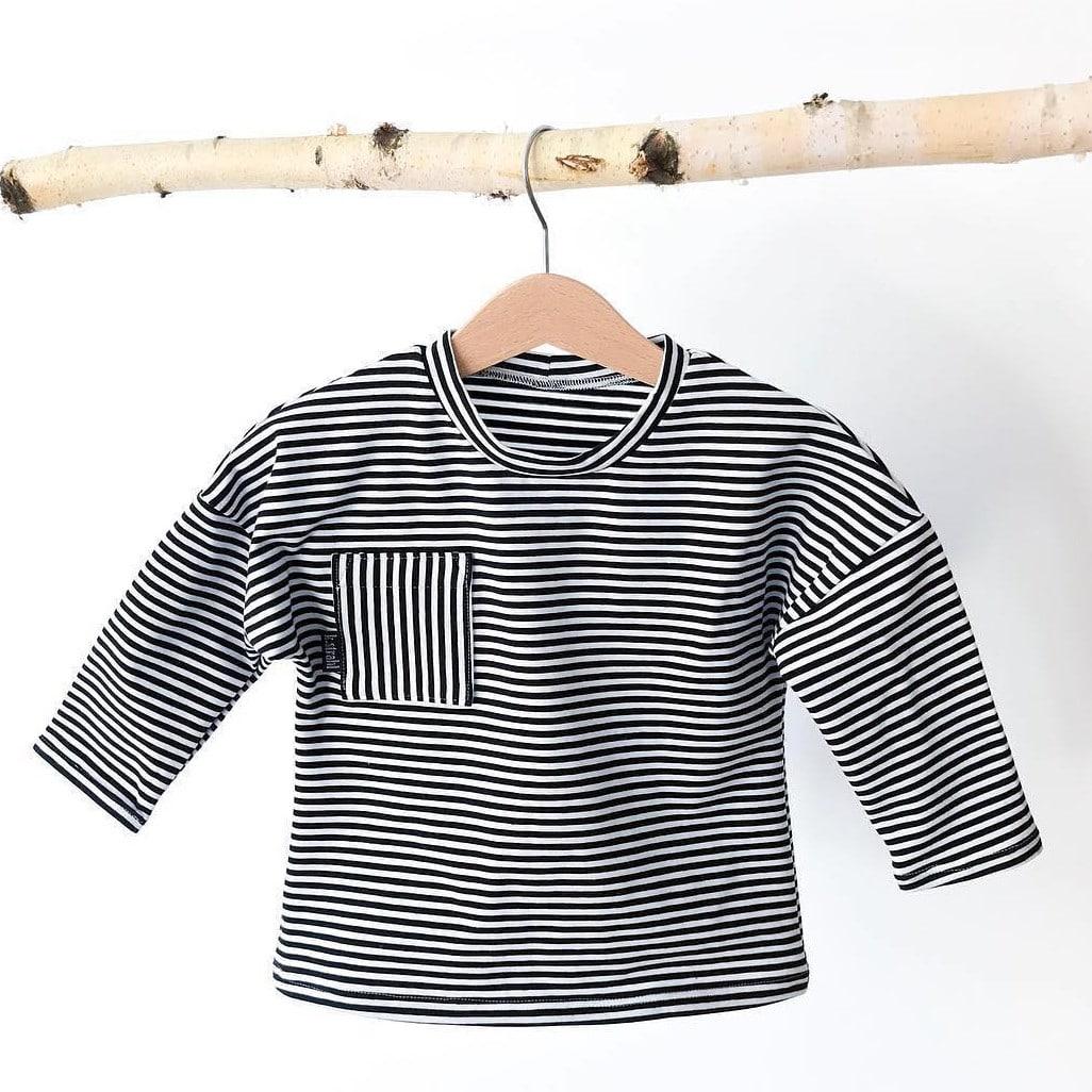 Patron gratuit t-shirt enfant Rowan - Misusu Patterns