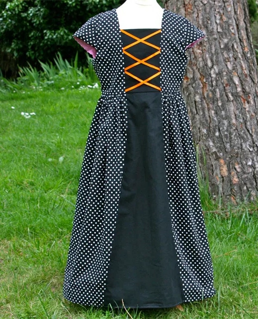 Patron robe déguisement Carabosse - Gasparine