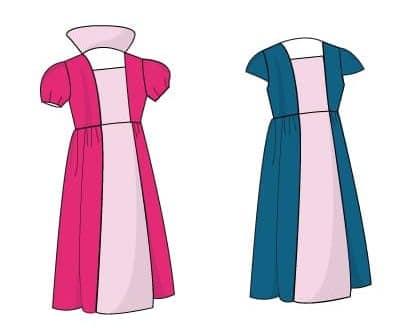 Patron robe déguisement princesse Carabosse - Gasparine