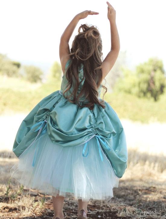 """Patron de robe de princesse """"petite princess dress"""" par The girl inspired"""