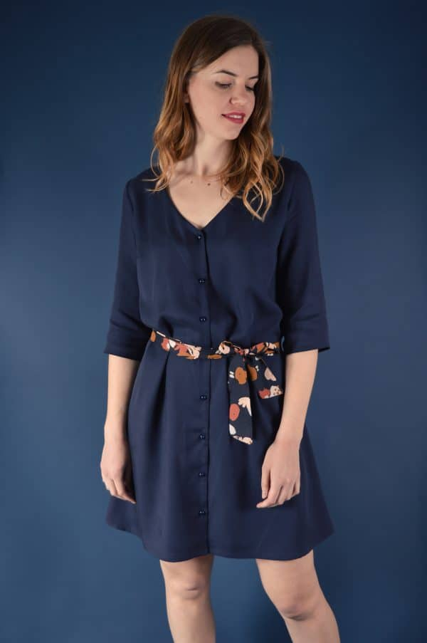 Robe Tuileries en Tencel - Cozy Little World
