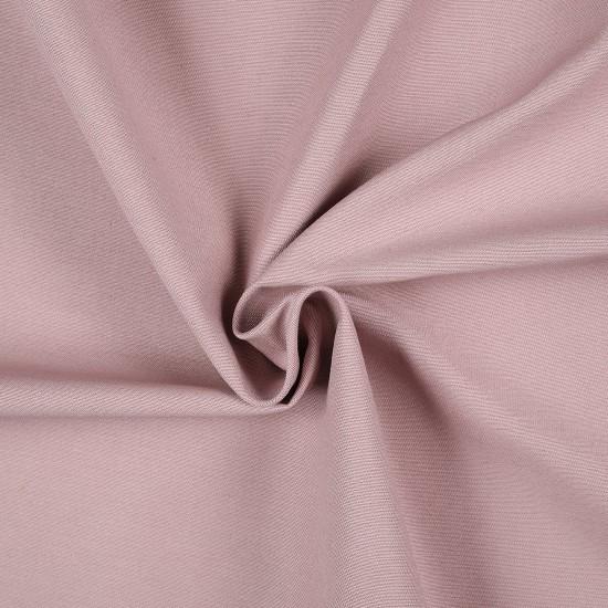 Tissu sergé coton rose - Mondial Tissus