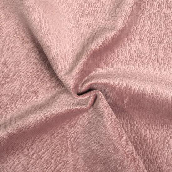 Tissu velours Decker rose - Mondial Tissus