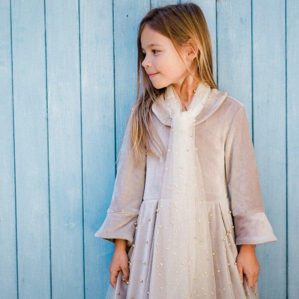 Patron gratuit robe fille Loane - Tissus Price
