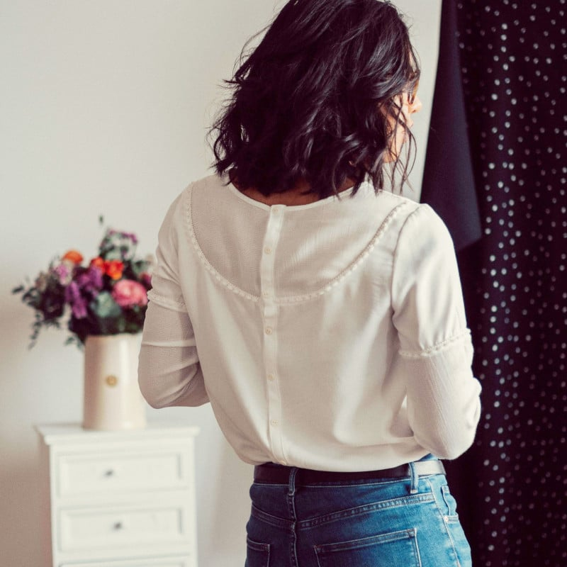 patron gratuit de blouse Hera - Roxane Miora