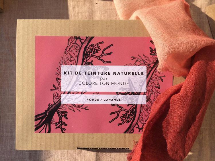 Kit teinture naturelle Garance - Colore ton Monde