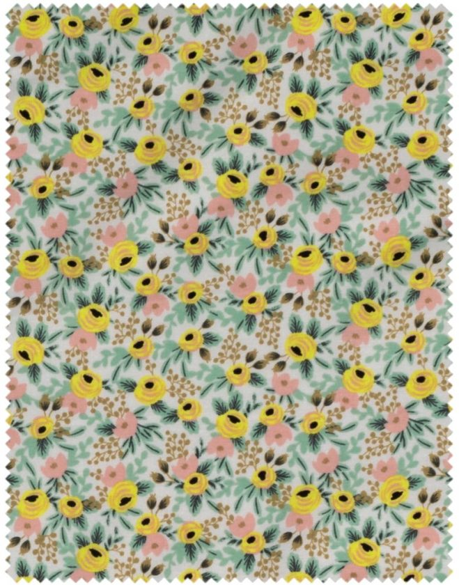 Rifle Paper Co - Primavera rose cotton - Yellow