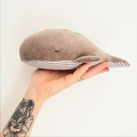 Tuto doudou baleine Chouette KIt