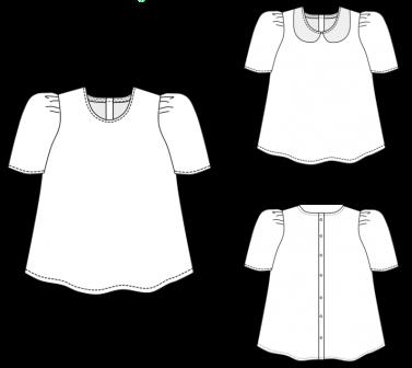 Blouse Patti - Dessin technique - Dress Your Body