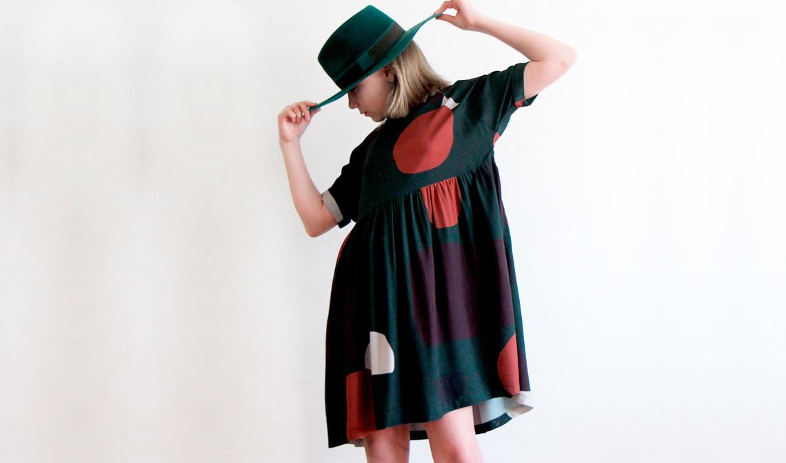 Patron robe I AM Cassiopée Mini