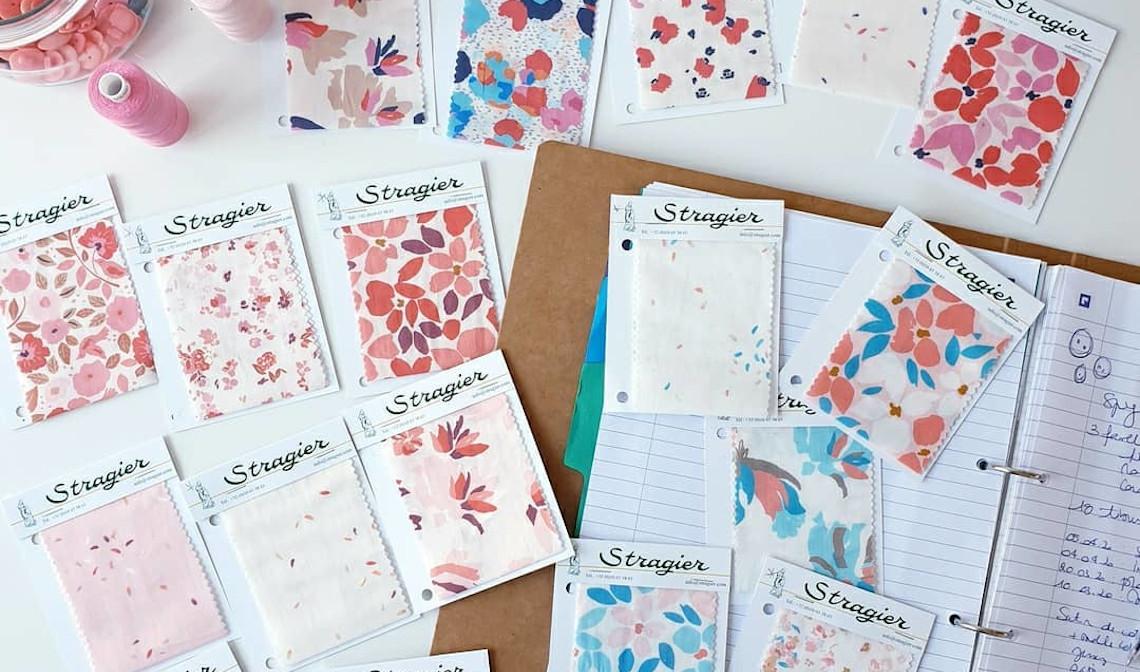 Collection de tissus UNE - Stragier
