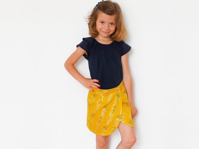 Patron jupe fillette Malo - I AM Patterns
