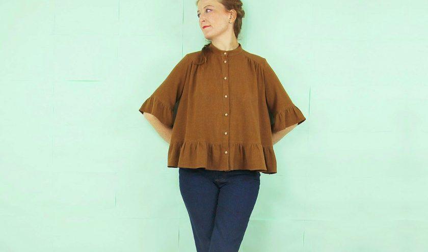 Nouvelle collection République du Chiffon - Jean Brad et blouse Flore