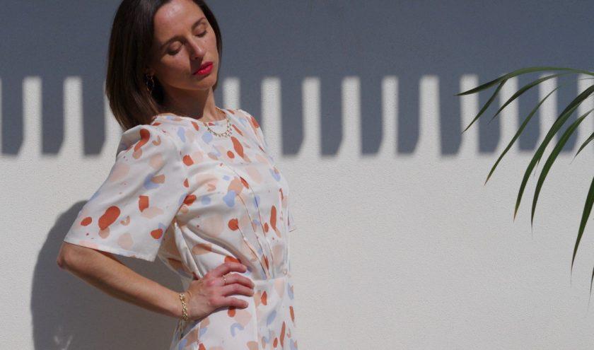 Sew me the sun - Robe Zenith - Maison Fauve