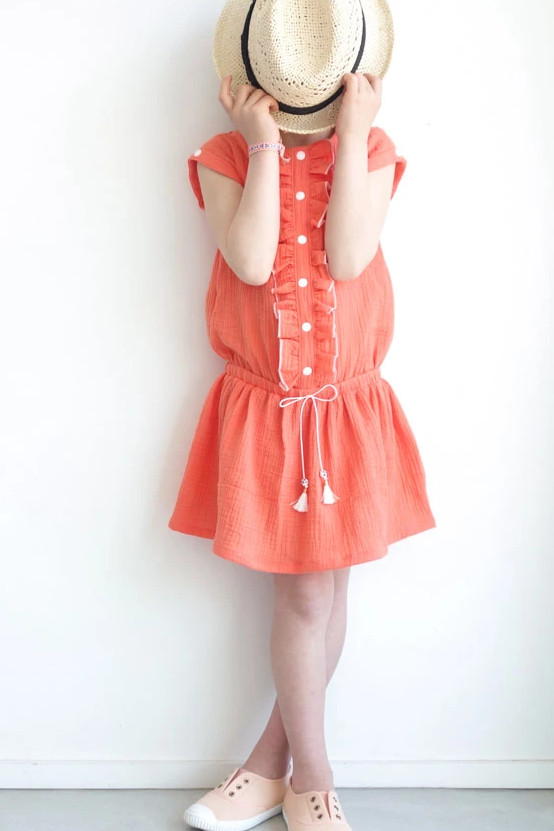 Combinaison Marieke version robe - IKATEE