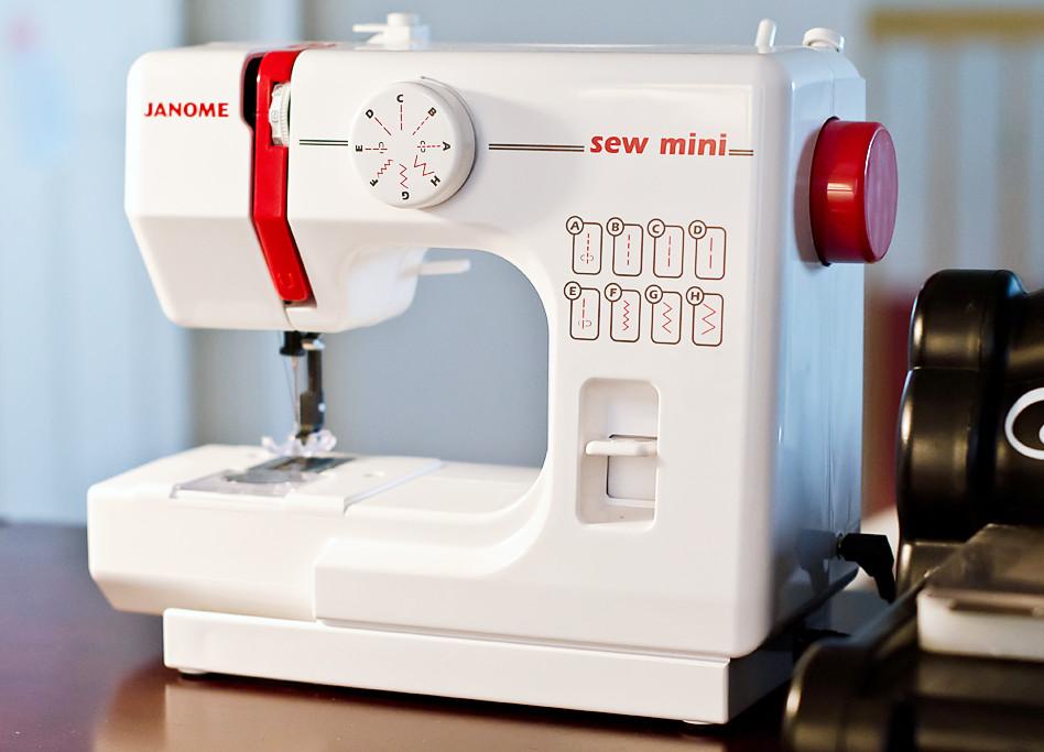 Janome Sew Mini - Machine à coudre enfant