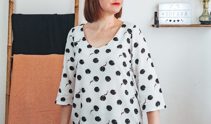 Patron blouse Fara - Sophie Denys