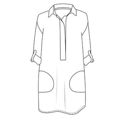 Patron robe liquette Joan - Dress Your Body